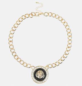 Avenue Lion Head Pendant Necklace