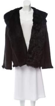 eskandar Hooded Shearling Coat