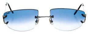 Cartier Chelsea Rimless Sunglasses