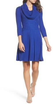 Eliza J Women's Cowl Neck Sweater Dress