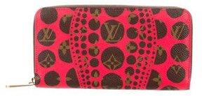 Louis Vuitton Monogram Pumpkin Dots Zippy Wallet - RED - STYLE