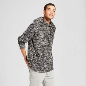 Jackson Men's Drop Shoulder Hoodie Sweatshirt Black/White