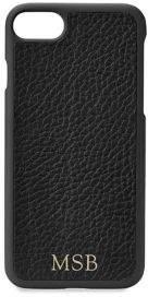 GiGi New York Personalized Pebbled Leather iPhone 7 Case