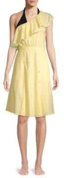6 Shore Road Bermuda One-Shoulder Linen Dress