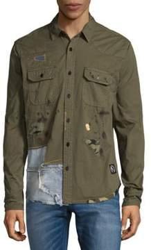 PRPS Bombard Cotton Button-Down Shirt