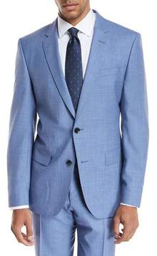 BOSS Melange Wool Two-Piece Suit