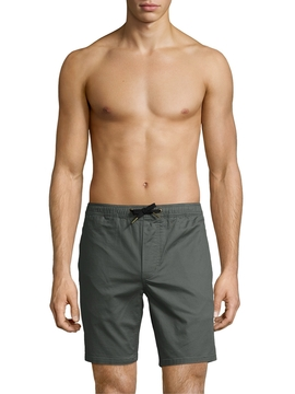 Barney Cools Men's Cotton Solid Shorts