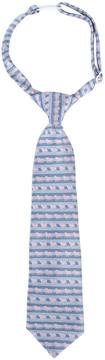 Andy & Evan Boys' Blue Mini Bulldog Tie