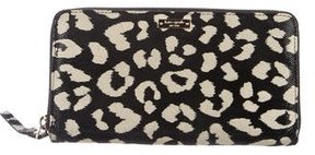Kate Spade Devote Leopard Lacey Wallet - ANIMAL PRINT - STYLE