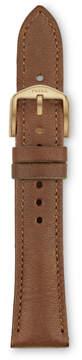 Fossil 18mm Espresso Leather Watch Strap