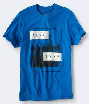 Aeropostale Aero Empire Logo Graphic Tee