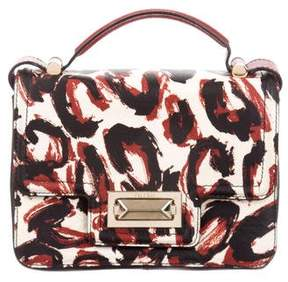 Max Mara Print Leather Crossbody Bag
