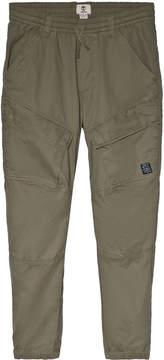 Timberland Kids Khaki Cargo Cuffed Trousers