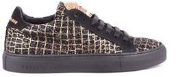 Philipp Plein Women's Black Suede Sneakers.