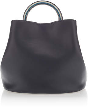 Marni Large Top Handle Bag in Leather