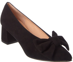 French Sole Midori Suede Pump