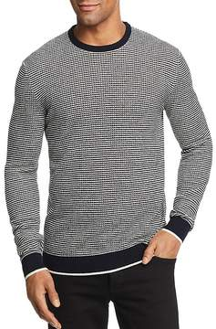 Bloomingdale's The Men's Store at Striped Crewneck Sweater - 100% Exclusive