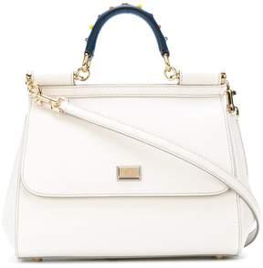 Dolce & Gabbana medium Sicily shoulder bag - WHITE - STYLE