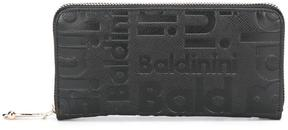 Baldinini logo embossed zipped wallet