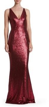 Dress the Population Women's Harper Mermaid Gown