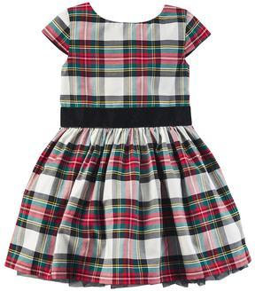 Carter's Girls 4-8 Plaid Holiday Dress