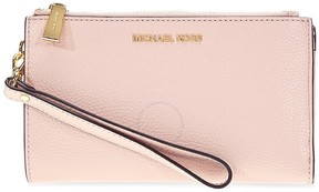 Michael Kors Adele Double Zip Wristlet - Soft Pink - ONE COLOR - STYLE