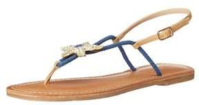 DOLCE by Mojo Moxy Women's Splash Flat Sandal.