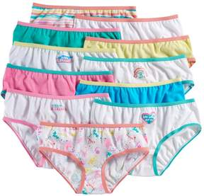 Maidenform Girls 4-14 11-pk. Hipster Panties