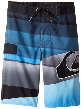 Quiksilver Slash Logo Boardshorts Boy's Swimwear