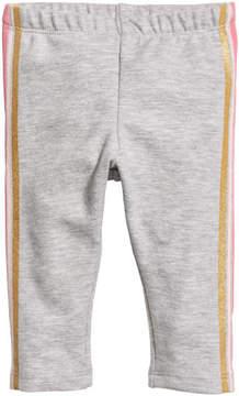 H&M Leggings with Motif - Gray
