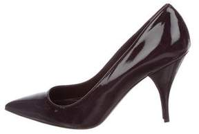 Barneys New York Barney's New York Patent Leather Pointed-Toe Pumps w/ Tags
