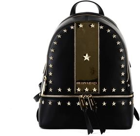 MICHAEL Michael Kors Michael Kors Backpack Rhea Nero - BLACK AND GOLD - STYLE
