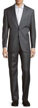 Lauren Ralph Lauren Solid Classic-Fit Two-Piece Wool Suit