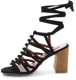 Kensie Womens Sadira Suede Open Toe Casual Strappy Sandals.