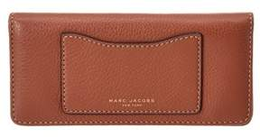 Marc Jacobs Open Face Leather Wallet. - COGNAC - STYLE