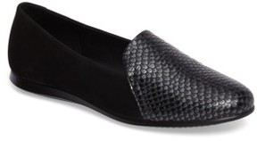 Ecco Women's Touch 2.0 Scale Embossed Loafer Flat