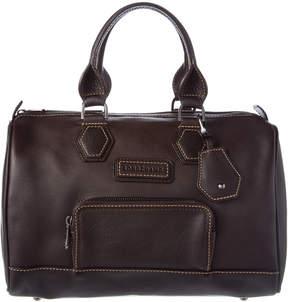 Longchamp Leather Bowler - BLACK - STYLE