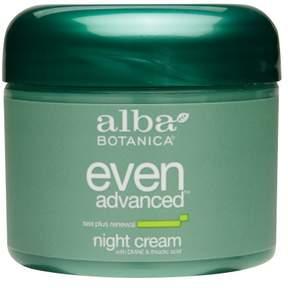 Alba Botanica Even Advanced Night Cream with DMAE & Thioctic Acid Sea Plus Renewal