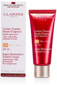 Clarins Super Restorative Tinted Cream SPF20 - # 04 Honey