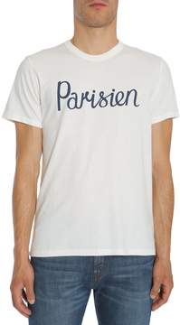 Kitsune Parisien Printed T-shirt