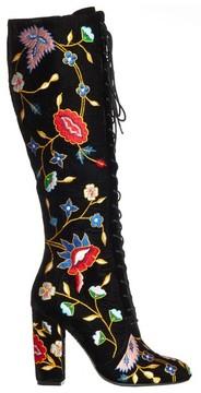 Alice + Olivia Vesey Gloria Embroidered Boot