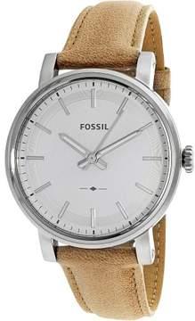 Fossil Women's Original Boyfriend ES4179 Tan Leather Quartz Fashion Watch