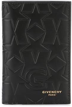 Givenchy Men's Black Leather Card Holder.