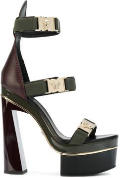Versace Medusa strap sandals