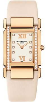 Patek Philippe 4920R 18K Rose Gold with Diamond 25mm Womens Watch