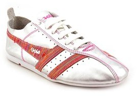 Gola Galaxy Women Round Toe Leather Sneakers.