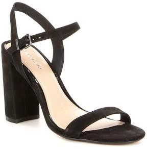 Gianni Bini Mckaria Block Heel Nubuck Leather Dress Sandals