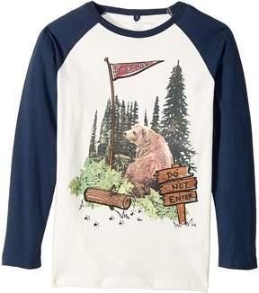 Stella McCartney Buck Bear Graphic Raglan T-Shirt Boy's Clothing