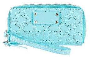 Kate Spade Jazzy Metro Zip-Around Wristlet - BLUE - STYLE