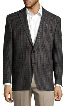 Lauren Ralph Lauren Plaid Wool Suit Jacket